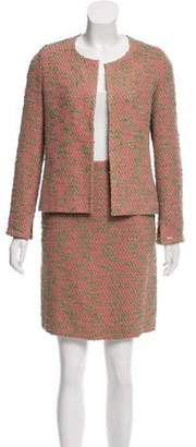 Chanel Tailored Bouclé Skirt Suit