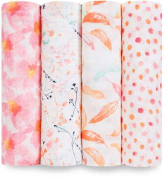 Aden Anais Aden & Anais Petal Bloom Swaddles (Pack of 4)