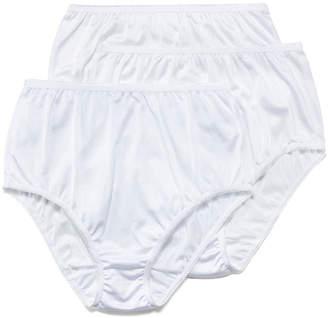Underscore Nylon 3 Pair Microfiber High Cut Panty