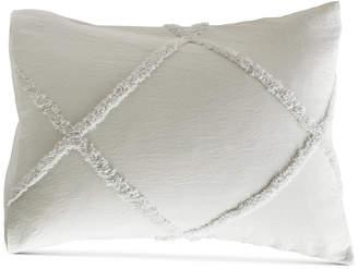 Peri Home Chenille Lattice Standard Sham Bedding