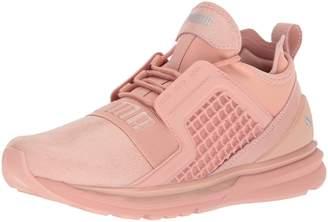 Puma Women's Ignite Limitless Metallic Suede Wn Sneaker