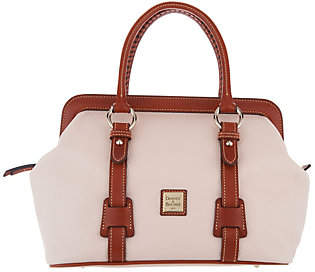 Dooney & Bourke Pebble Leather Mitchell SatchelHandbag