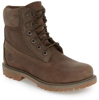 Women's Timberland '6 Inch Premium' Waterproof Boot $169.95 thestylecure.com