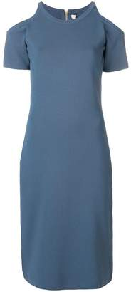 MICHAEL Michael Kors cut-out shoulder dress