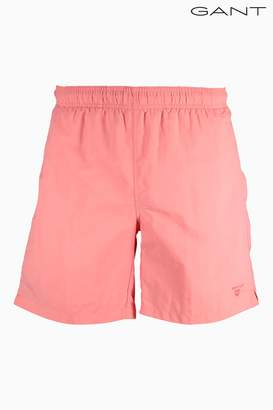 Next Mens GANT Pink Swim Trunk