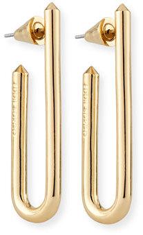 Idle Golden Hoop Earrings