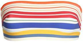 Stella McCartney Striped Bandeau Bikini Top