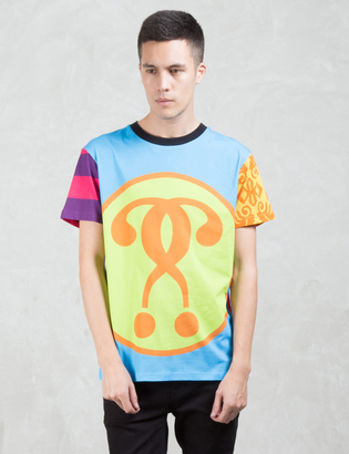 MOSCHINO Multi Fabric Patch S/S T-Shirt $195 thestylecure.com