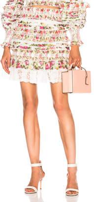 Zimmermann Sunny Smocked Skirt