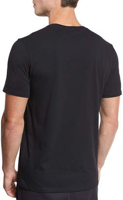 Vince Distressed Crewneck T-Shirt