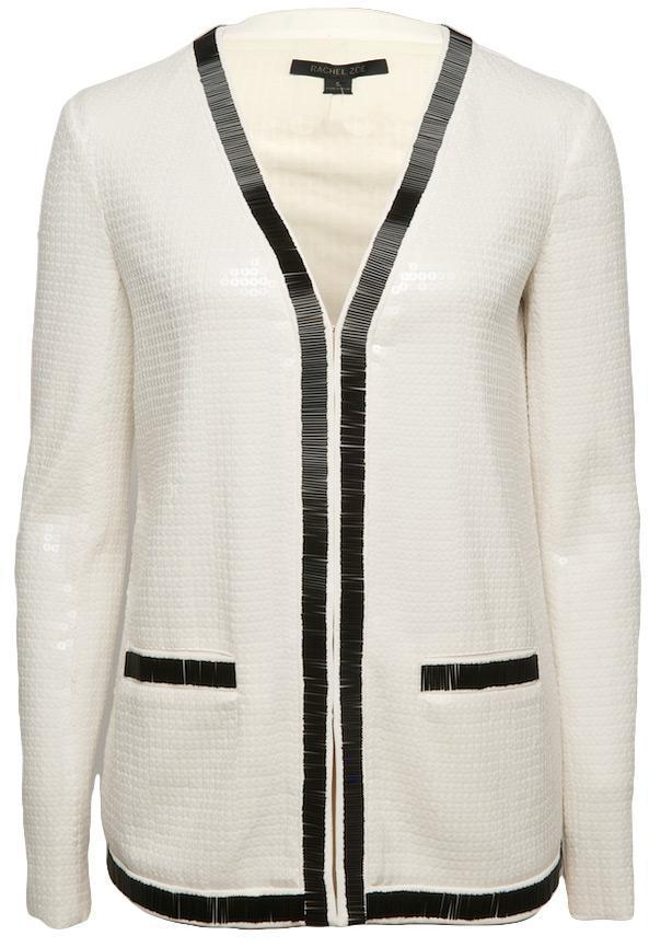 Rachel Zoe Linda Sequin Jacket