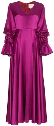 Roksanda Silk Lavonne Maxi Dress