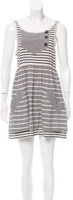Marc by Marc Jacobs Sleeveless Stripe Print Tunic