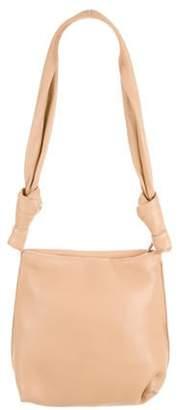 The Row Wander Leather Shoulder Bag Tan Wander Leather Shoulder Bag