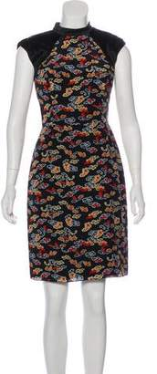 Jason Wu Silk Knee-Length Dress