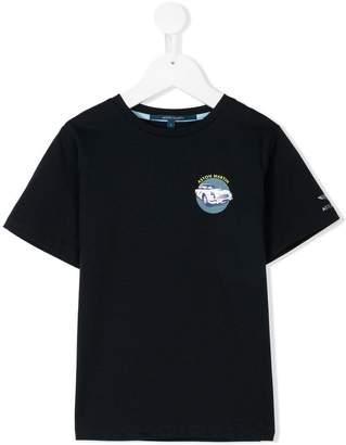 Aston Martin Kids logo patch T-shirt