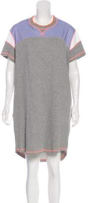 Richard Nicoll Short Sleeve Knee-Length Dress