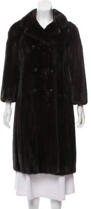 Ben Kahn Mink Fur Coat