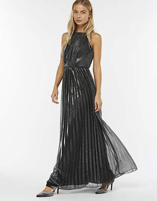 Monsoon Miranda Lamé Maxi Dress
