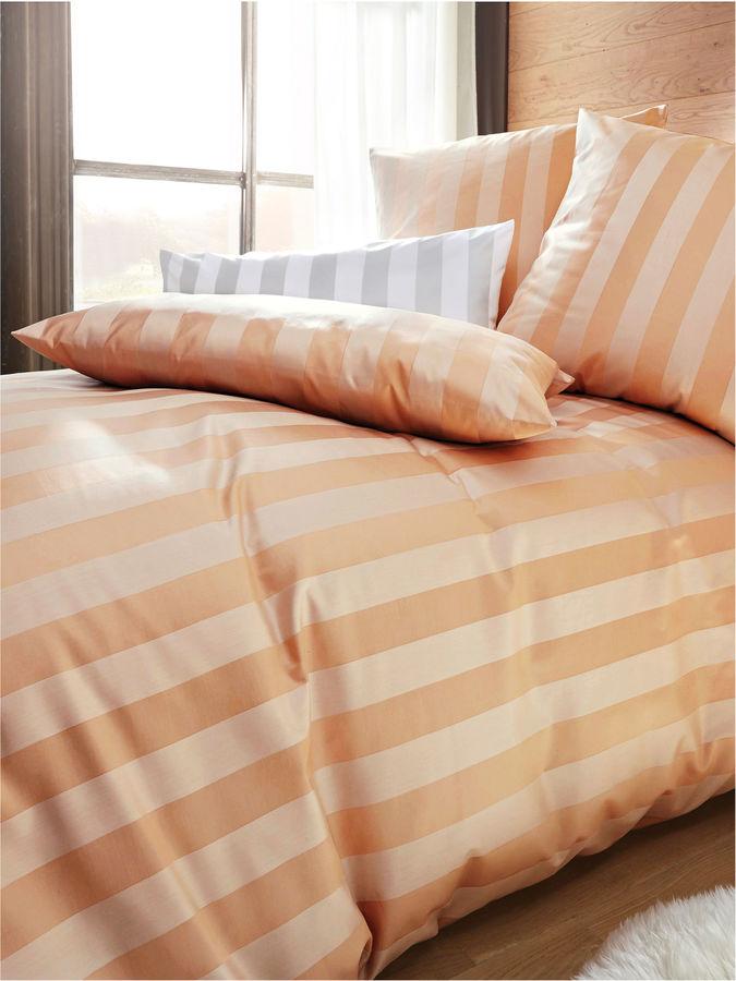 Bettbezug ca. 135x200 cm. Curt Bauer braun Größe