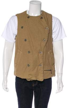 Kapital Double-Breasted Sherpa Vest