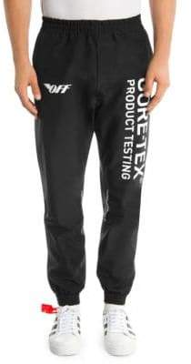 Off-White Gore Tex Cotton Pants