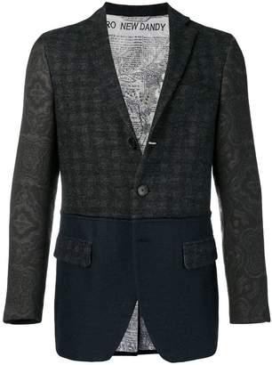 Etro patchwork patterned blazer