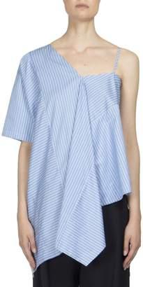 Maison Margiela Women's Asymmetric One Shoulder Tunic