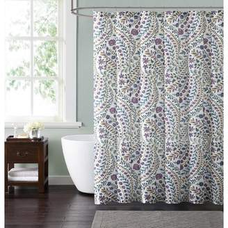 Latitude Run Wills Floral Shower Curtain