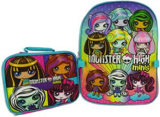Monster High Kohl's Kids Minis Backpack & Lunch Box Set