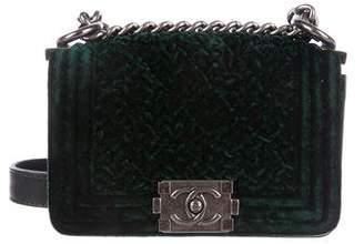 Chanel Mini Velvet Boy Bag