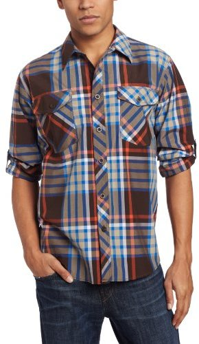 Enyce Men's Highland Roll Up Long Sleeve