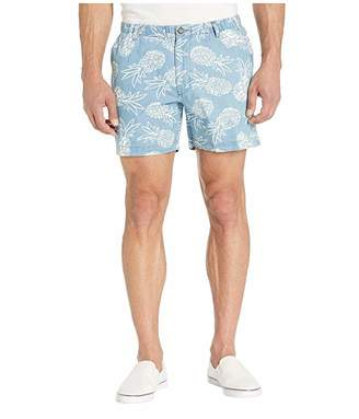 Vintage 1946 Pineapple Print Snappers Shorts