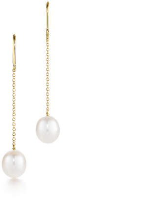 Tiffany & Co. Elsa Peretti® Pearls by the YardTM chain earrings