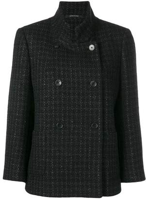 Tagliatore short tweed jacket