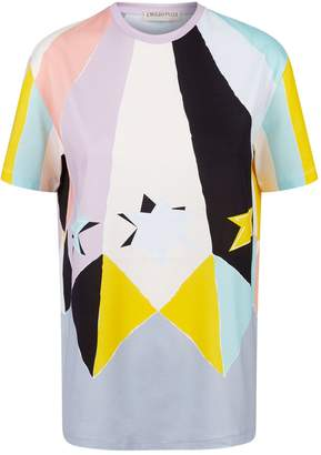 Emilio Pucci Abstract Star Print T-Shirt
