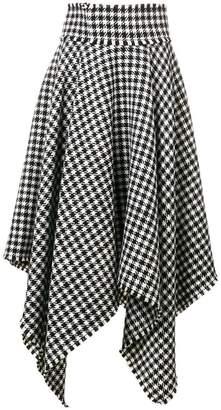 Dolce & Gabbana houndstooth skirt