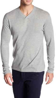 Autumn Cashmere Ribbed V-Neck Sweater $155 thestylecure.com