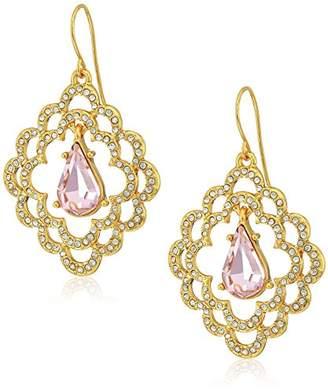 Carolee Scalloped Drop Earrings