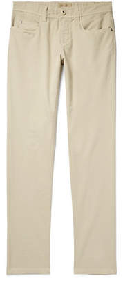 Loro Piana Slim-Fit Stretch-Cotton Trousers