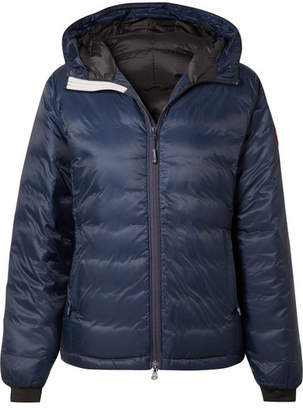 Canada Goose Camp Hooded Quilted Shell Down Jacket - Navy