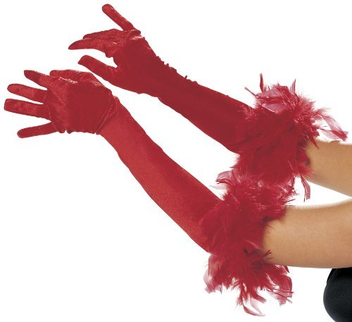 Shirley of Hollywood Adult Long Gloves
