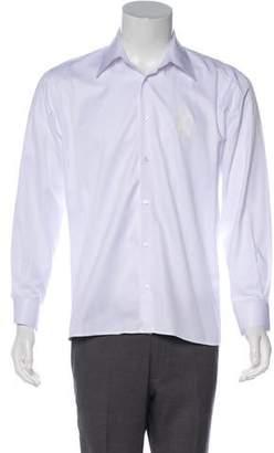 Xander Zhou Printed Button-Up Shirt