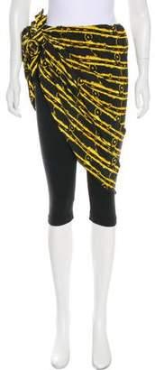Norma Kamali Overlay Skinny Pants