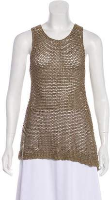 Vince Knit Sleeveless Mini Dress