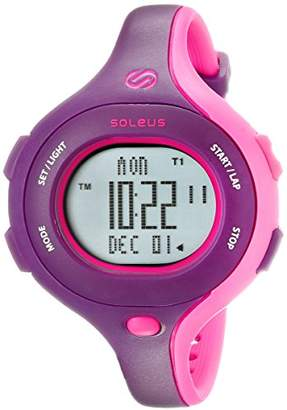 Soleus Women's SR009-515 Chicked Digital Display Quartz Two Tone Watch