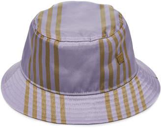 Acne Studios Striped Shell Bucket Hat