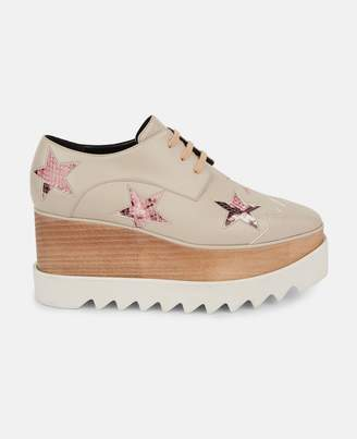 Stella McCartney beige elyse star shoes