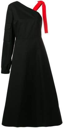 Yulia Yefimtchuk one shoulder dress
