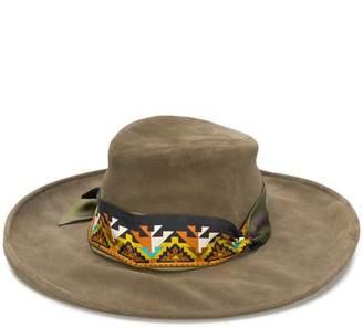 Etro wide brim sun hat
